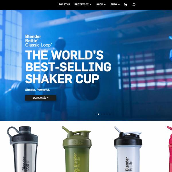 Blenderbottle web shop