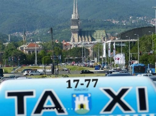 Radio Taxi Zagreb web stranica