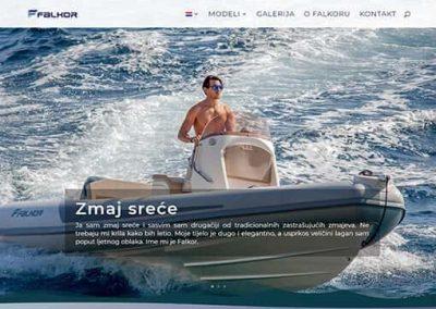 Falkor brodovi web stranica
