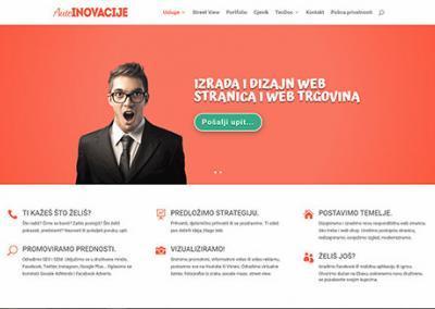 Autoinovacije izrada web stranica